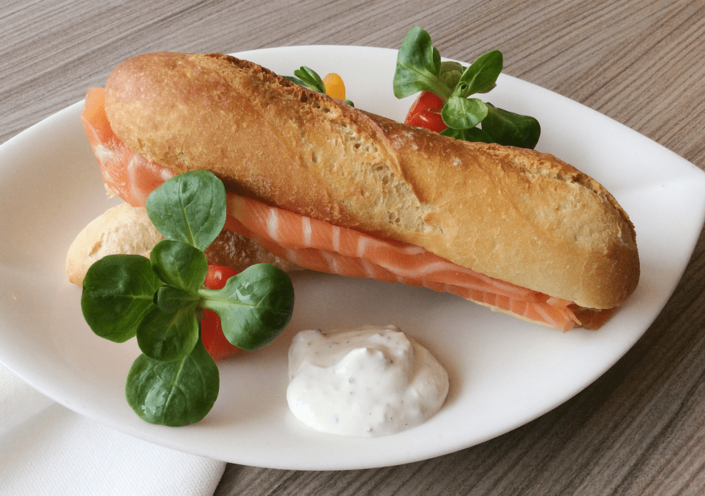Saumon Fumé, les petits pains malin